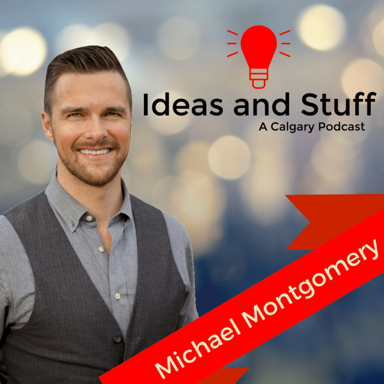 Michael Montgomery host of Ideas and Stuff