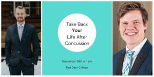 Event on Concussions: Take Back Your Life After a Concussion
