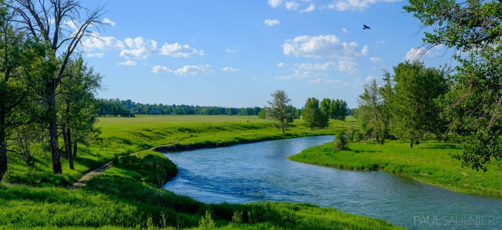 Scenery of Fish Creek River